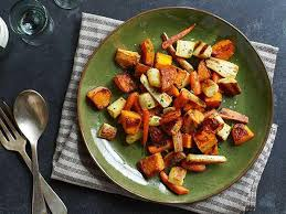 Root Vegetables Roasted - roasted winter vegetables recipe ina garten food network