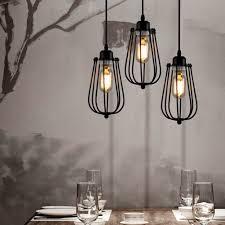 Grandes Lampes De Salon by Plafonnier Industriel Lustre E27 Suspension Vintage Edison