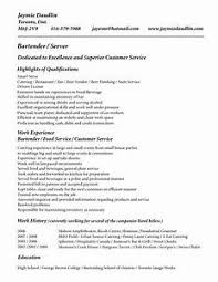 server resume exle server bartender cover letter pointrobertsvacationrentals