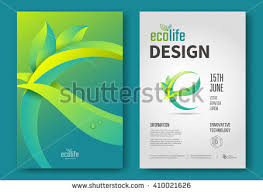 e brochure design templates eco brochure design vector template corporate stock vector