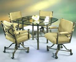 dining room chairs on wheels 70 dining chairs on casters charming