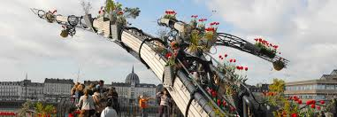 Garden Art Pole This French Art Collective Is Building The World U0027s Largest Hanging
