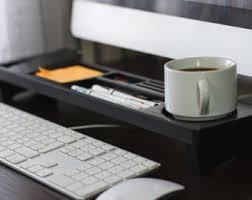 Office Desk Organizer by Oak Wood Office Desk Organizer Desktop Shelf Office Organizer