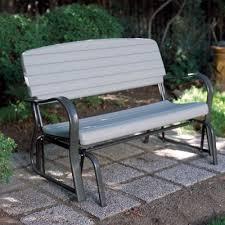 lifetime outdoor glider bench