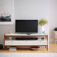 media consoles furniture modern media console 68 west elm