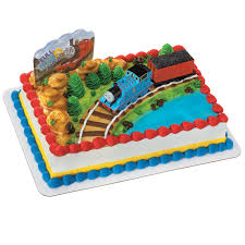 thomas the train and coal car cake topper 3 pieces