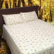Sheet Bedding Sets Vintage Print 100 Organic Cotton Sheet Set 350 Tc