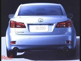fuel consumption lexus is250 used car review lexus is250 2005 2010