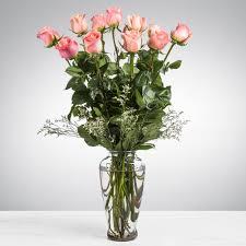 dozen long stemmed pink roses by bloomnation in murrysville pa