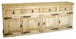 yosemite large rustic pine buffet buffets and sideboards by