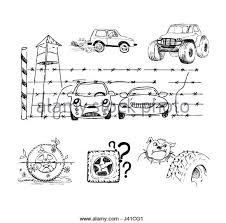 car sketch black and white stock photos u0026 images alamy