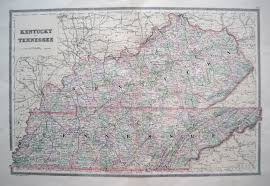Map Of Middle Tennessee by Antique Maps Of Tennessee