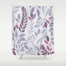 Flower Drop Shower Curtain Drawing Shower Curtains Society6