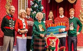 the royal family in sweaters 100 kitsch