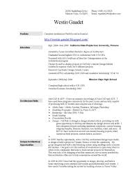 Architecture Resumes And Portfolios Critical Essay On Health Cover Letter Transferable Skills Sample