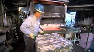 buddy bar aluminum casting foundry boneyard youtube