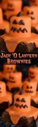 melted jack o u0027 lantern brownies jack o jack o u0027connell and jack
