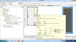 dcim design layout with device association issue server room