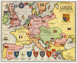 Map Of Europe Before And After Ww1 by The Sherlock Holmes Map Of Europe From The 1961 Book Edition