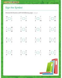 collections of free printable math worksheets fractions wedding