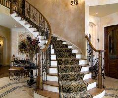 Traditional Staircase Ideas Traditional Staircase Ideas With Wall Inset Wax Furniture Polishes