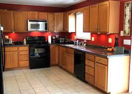 dark red kitchen colors gen4congress com magnificent kitchens with