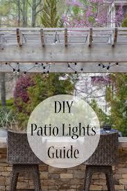 How To Hang Patio Lights 17 Parasta Ideaa How To Hang Patio Lights Pinterestissä