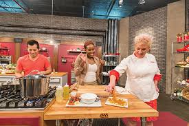 Cooks In The Kitchen by In The Kitchen With Anne Burrell U2013 Women Of Upstate New York Magazine