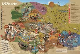 Hummingbird Map Park Map San Diego Zoo Safari Park