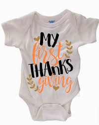 baby shower t shirts my thanksgiving onesie or t shirt personalized upon