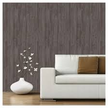 Peal And Stick Wall Paper Devine Color Textured Driftwood Peel U0026 Stick Wallpaper Buck Target