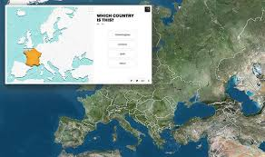 geography map europe quiz geography test baffles brits can you find romania on
