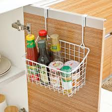 Kitchen Cabinet Door Storage by Kitchen Hanging Basket Seasoning Rack Kitchen Cabinet Door After