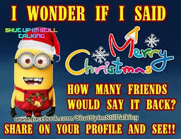 merry minion quote pictures photos and images for