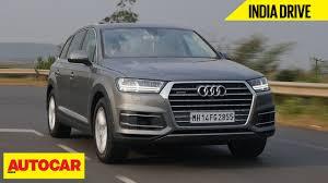 Audi Q7 Colors - audi q7 india drive comprehensive review autocar india youtube
