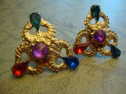 clip on earrings s 35 best clip on earring i am bringing them back images on