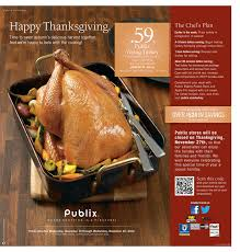 publix thanksgiving products weekly ads