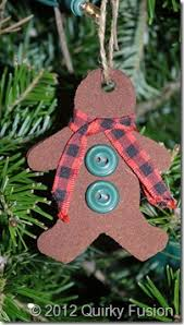 cinnamon applesauce gingerbread ornaments quirkyfusion