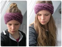 infinity headband free pattern knit turban headband vinaknits