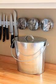 modern kitchen bins 10 easy pieces kitchen compost pails countertop bin on modern home