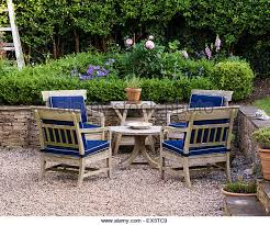 Country Outdoor Furniture by Wooden Garden Furniture Stock Photos U0026 Wooden Garden Furniture