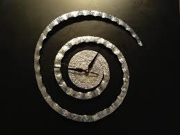 designer clock metal clock indian brass sculpture modern chrome
