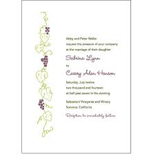 vineyard wedding invitations wedding invitations