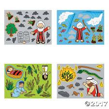 stories of moses mini sticker scenes sunday scene and
