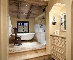 sunrise clawfoot bathtub bathroom victorian with black tray table