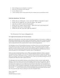 Do You Need A Resume For An Interview Resumes Interviews And Workplace Etiquette