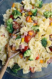 Simple Pasta Salad Recipe Simply Scratch Italian Bowtie Pasta Salad Simply Scratch