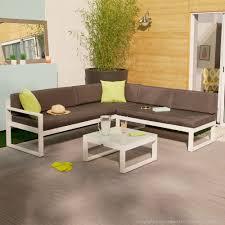 canape angle jardin salon de jardin bas moderne squareline 5 places canapé d angle