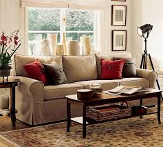 furniture enjoyable cream fabric sofa for modern living room