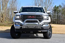 lifted white gmc gmc sierra altitude package luxury lifted truck rocky ridge trucks